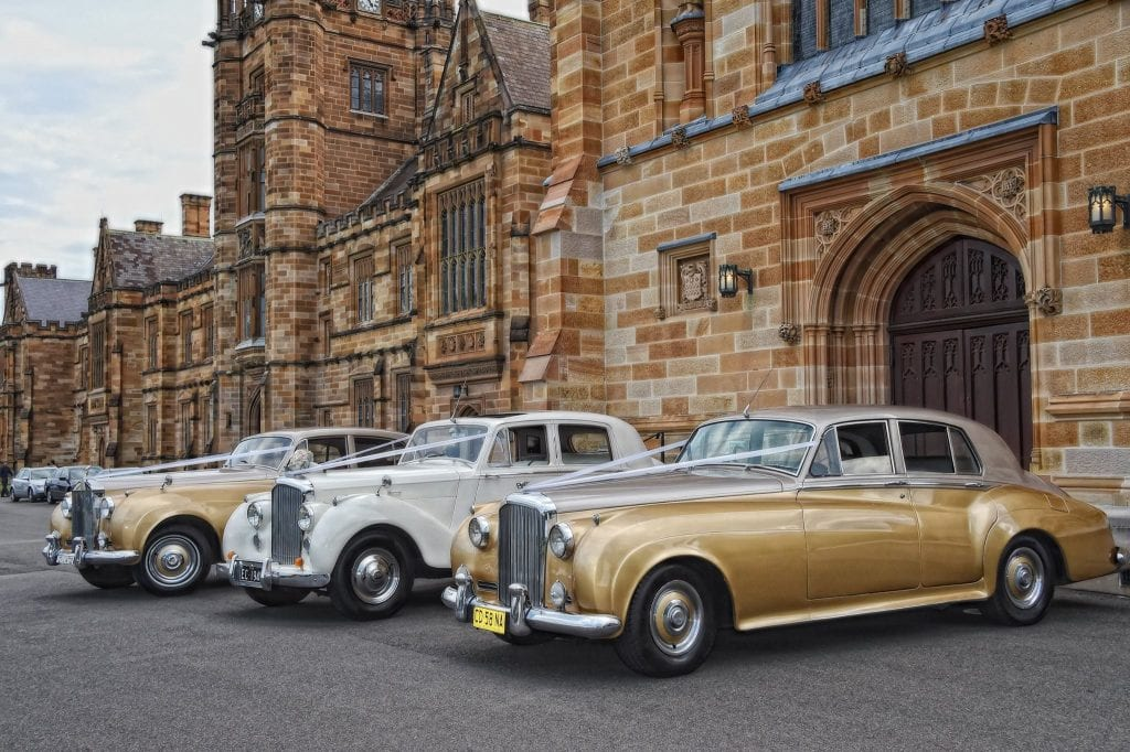 Rolls Royce Classic Wedding Car Sydney Oz Limo Hire
