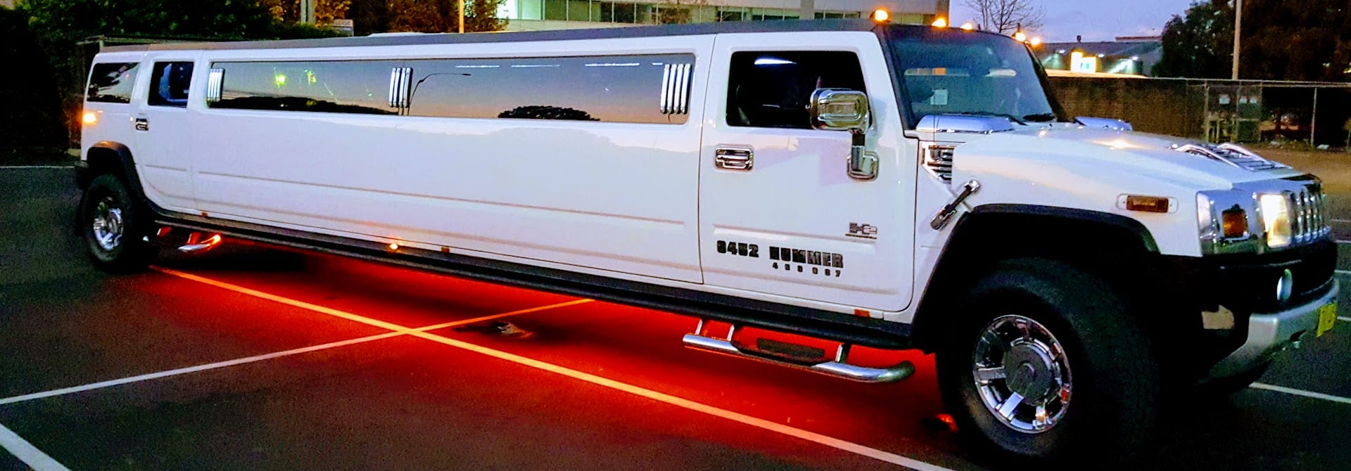 18 Seat Pink Hummer Oz Limo Hire